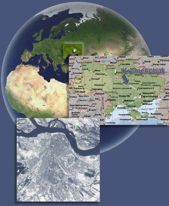 Todays Photo Of Kremenchuk Map - Kremenchuk map